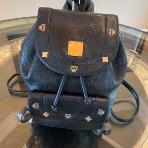 Gorgeous MCM Leather Backpack